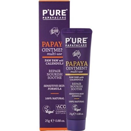 Papaya Ointment Paw Paw with Calendula 25g - P'ure Papayacare