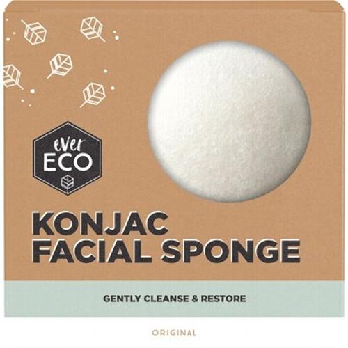 Facial Sponge Konjac Original - Ever Eco