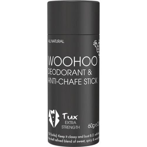 Deodorant & Anti-Chafe Stick Tux Extra Strength 60g - Woohoo Body