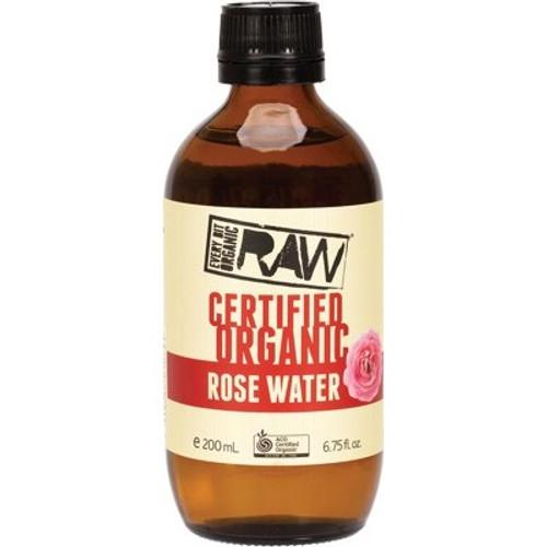 Rose Water Organic 200ml - Every Bit Organic Raw