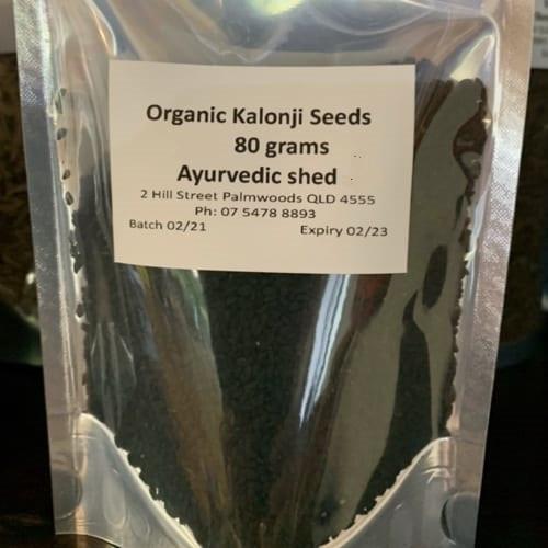 Kalonji seed Black Cumin (Nigella) Organic 50g