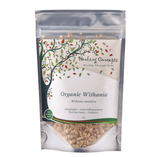 Withania Tea Leaf Organic 50g - Healing Concepts