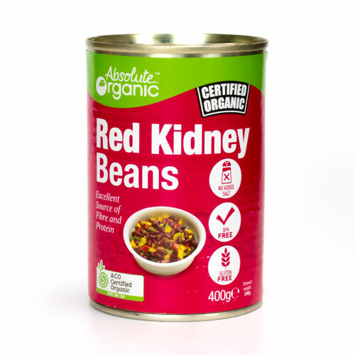 Red Kidney Beans Organic 400g - Absolute Organic