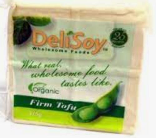 Tofu Firm Organic 375g - DeliSoy