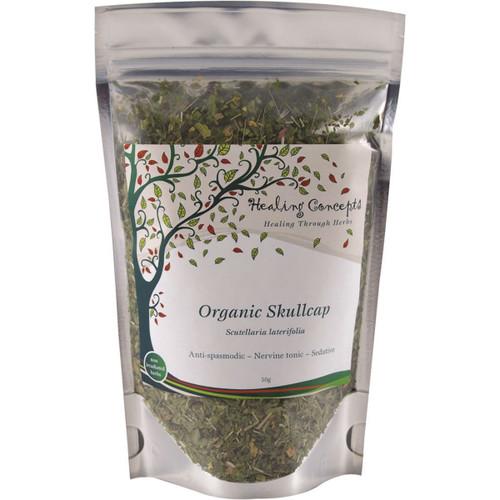 Skullcap Tea Leaf Organic 50g - Healing Concepts
