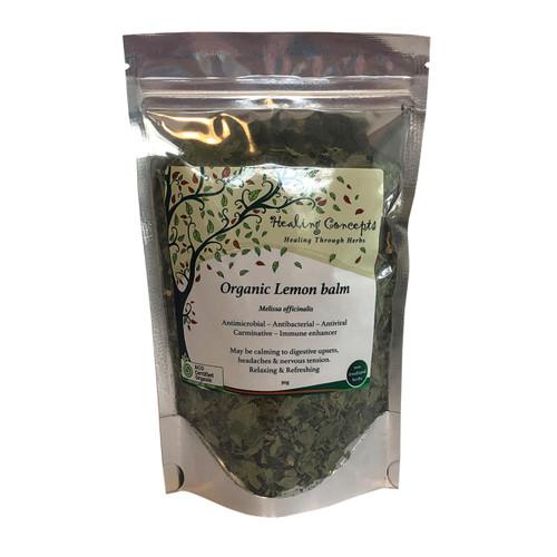 Lemon Balm Tea Leaf Organic 30g - Healing Concepts