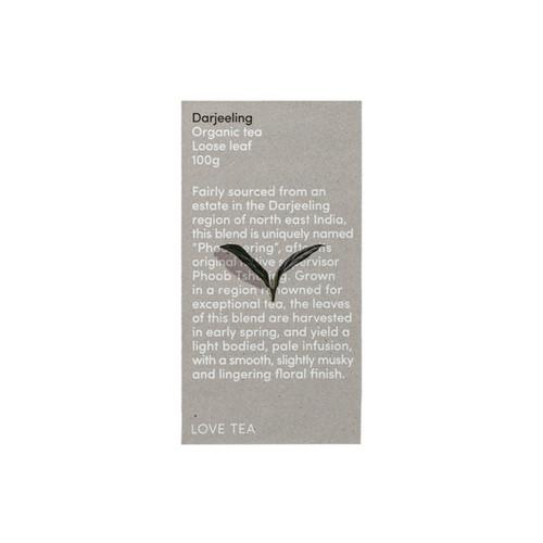 Darjeeling Tea Loose Leaf Organic 100g - Love Tea