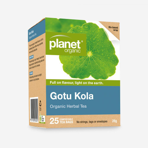 Gotu Kola Tea 25 Bags - Planet Organic