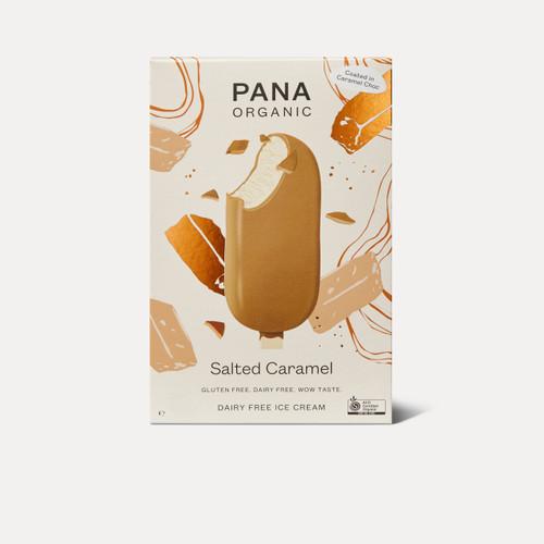Dairy Free Ice cream STICK Salted Caramel Organic 105g - Pana