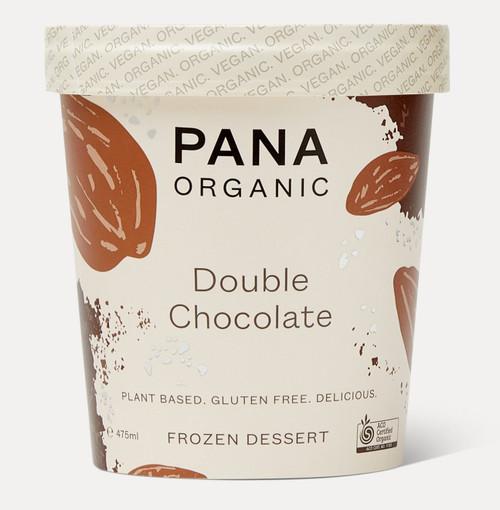 Dairy Free Ice Cream TUB Double Choc Organic 475ml - Pana