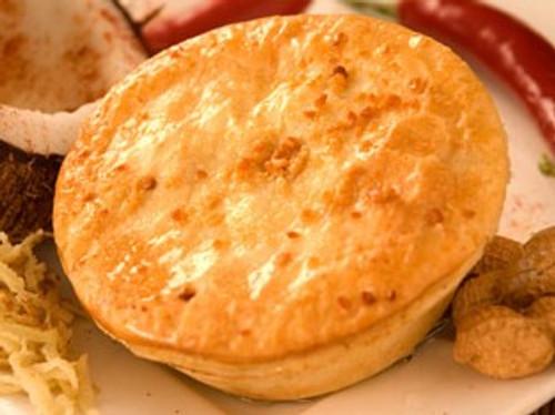 Satay Chicken Pie Frozen - Byron Gourmet