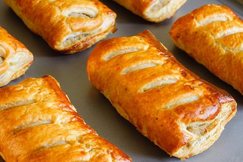 Sausage Roll GLUTEN FREE Organic Frozen - Byron Gourmet