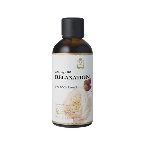 Massage Oil Relaxation Organic 100ml - Ausganica