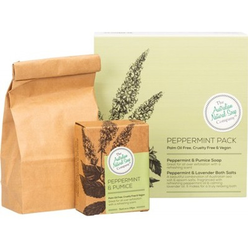 Peppermint Gift Pack - The Australian Natural Soap Company