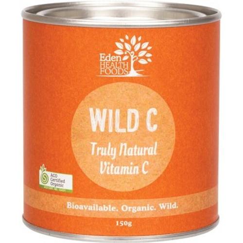 WIld C Natural Vitamin C Powder Organic 150g - Eden Healthfoods