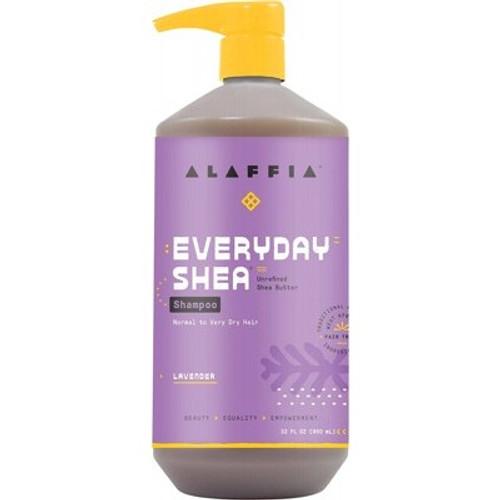 Lavender Everyday Shea Shampoo 950ml - Alaffia
