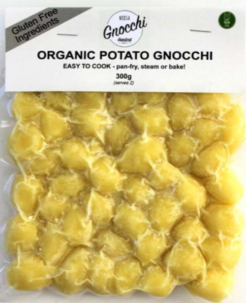 Gnocchi Potato Organic GLUTEN FREE 300g - Noosa Gnocchi Handcut Deli