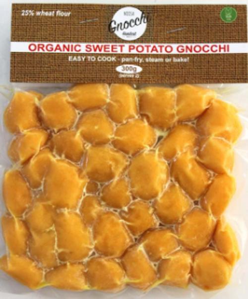 Gnocchi Sweet Potato Classic Organic 300g - Noosa Gnocchi Handcut Deli