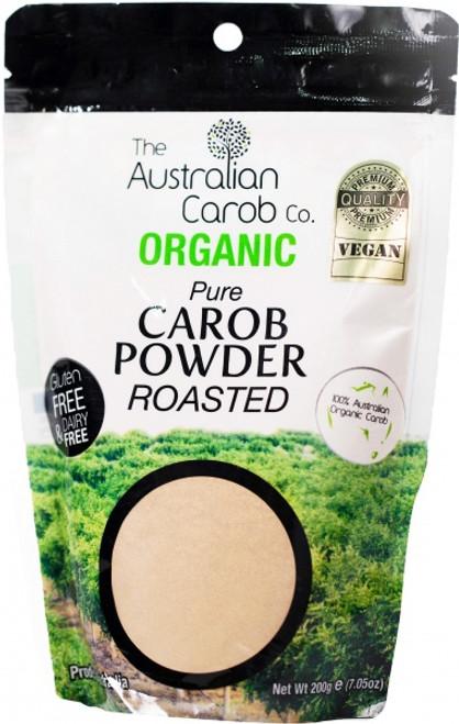 Carob Powder Roasted Organic 200g - The Australian Carob Co