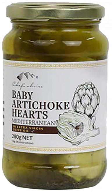 Baby Artichoke Hearts 280g - Chefs Choice