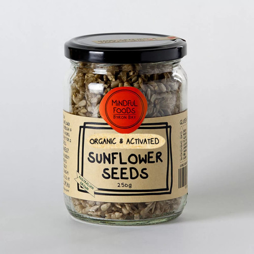 Sunflower Seeds Organic Activated 250g - Mindful Foods