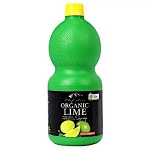 Lime Juice Organic 1L - Chefs Choice