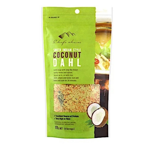 South Indian Coconut Dhal Mix 170g - Chefs Choice