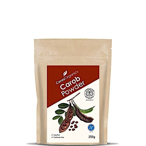 Carob Powder Roasted Organic 250g - Ceres Organics