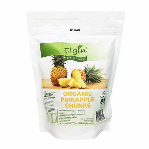 Pineapple Frozen Organic 1kg - Elgin