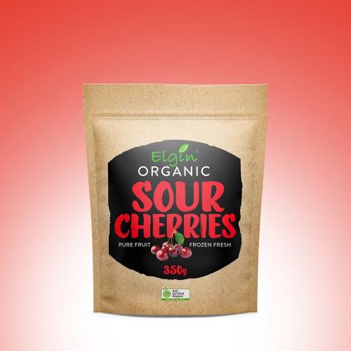 Sour Cherries Frozen Organic 350g - Elgin