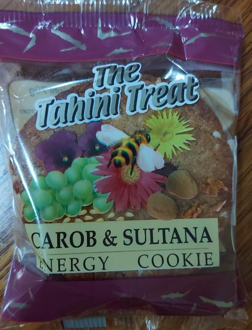 Tahini Treat Carob & Sultana Energy Cookie - Melissa Confectionery