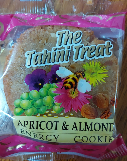 Tahini Treat Apricot & Almond Energy Cookie - Melissa Confectionery