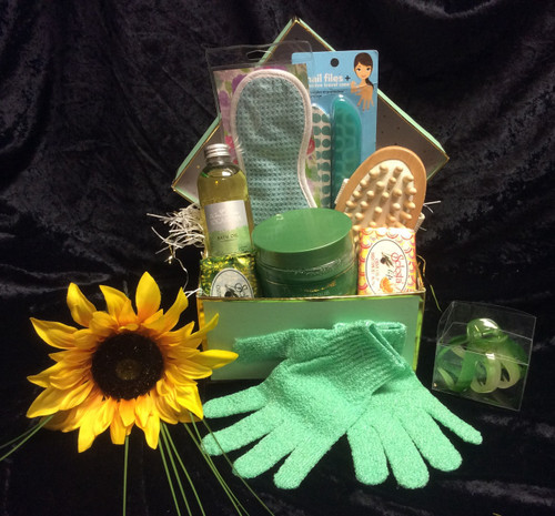 Luxury Tea Tree Spa Box Gift Basket (SOLD OUT)
