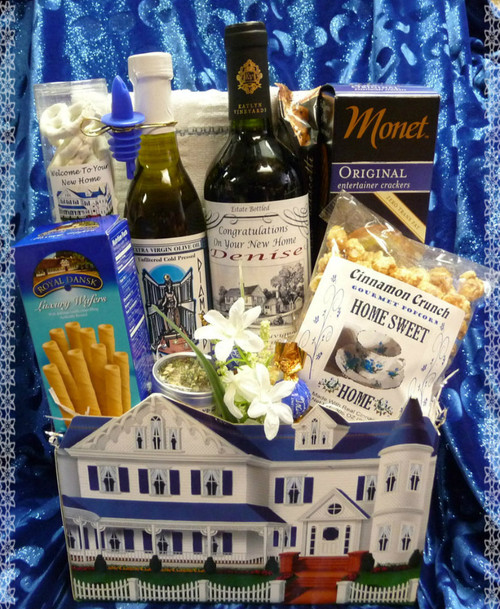 Victorian Home Sweet Home Gift Basket