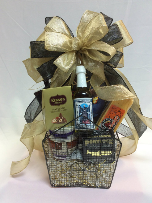 Home Sweet Home Wire Storage Gift Basket