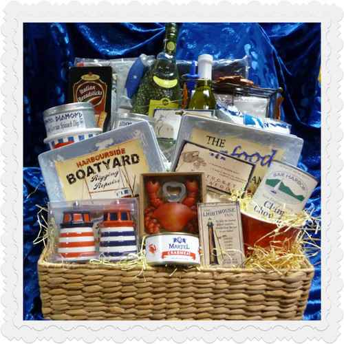 Weekend In The Hamptons Nautical Gift Basket  ( Sold Out )