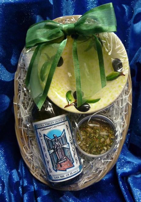 Athena Diamond Mini Bread Basket Gift set