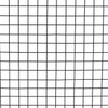 16 Gauge Black Vinyl Coated Welded Wire Mesh Size 1 inch by 1 inch