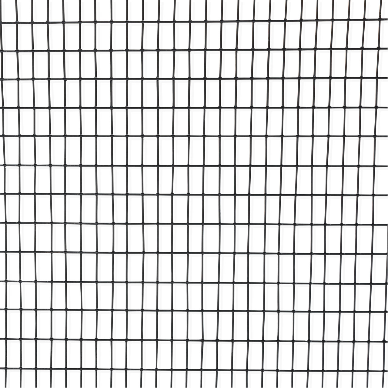 16 Gauge Black Vinyl Coated Welded Wire Mesh Size 0 5 Inch By 1 Inch
