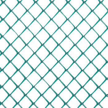 "Green Diamond Plastic Poultry Netting 2 ft. x 25 ft. & 3/4"" Diamond Mesh"