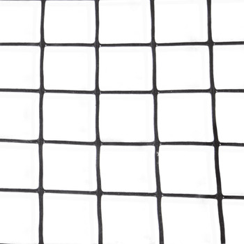 16 Gauge Black Vinyl Coated Welded Wire Mesh Size 1.5 inch by 1.5 inch