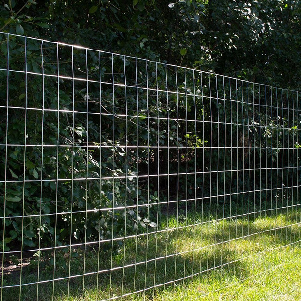 "12.5 Gauge Galvanized Welded Wire 2"" x 4"" Inch Mesh 6 ft. x 100 ft."