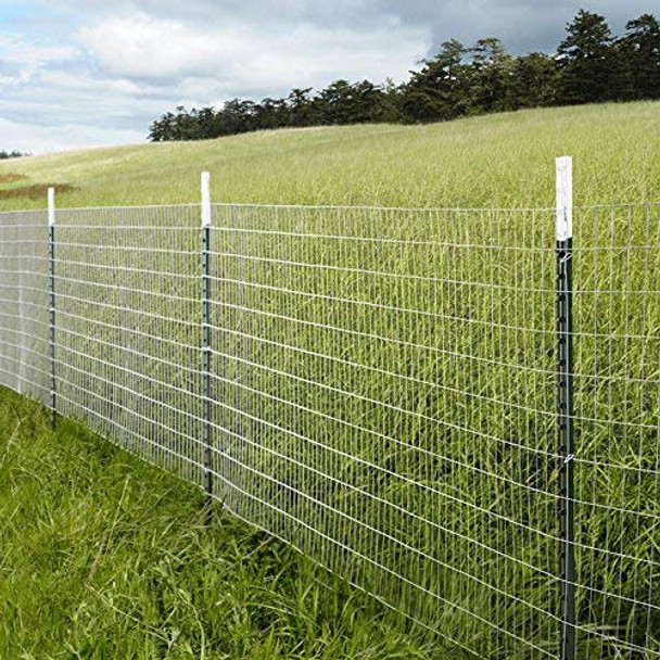 Fencer Wire 16 Gauge Galvanized Welded Wire Mesh Size 2 inch by 4 inch (2 ft. x 100 ft.)
