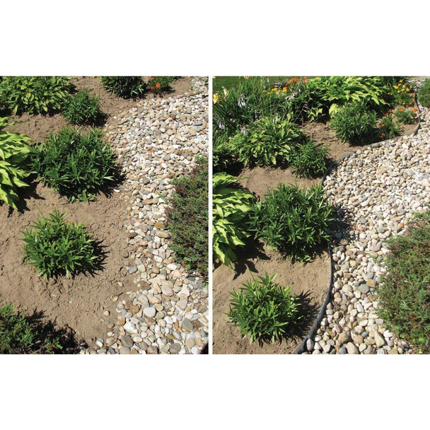 Sure-Loc 24 ft. Aluminum Landscape Edging Project Kit in Bronze
