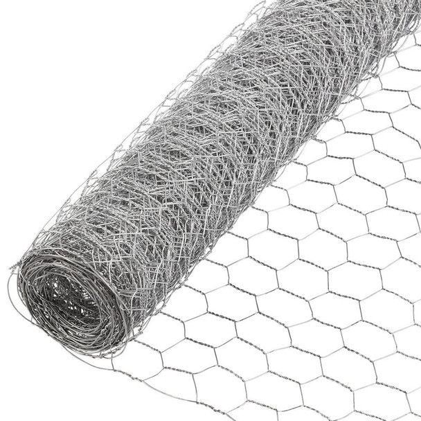 20 Gauge Galvanized Poultry Netting Mesh Size 2""