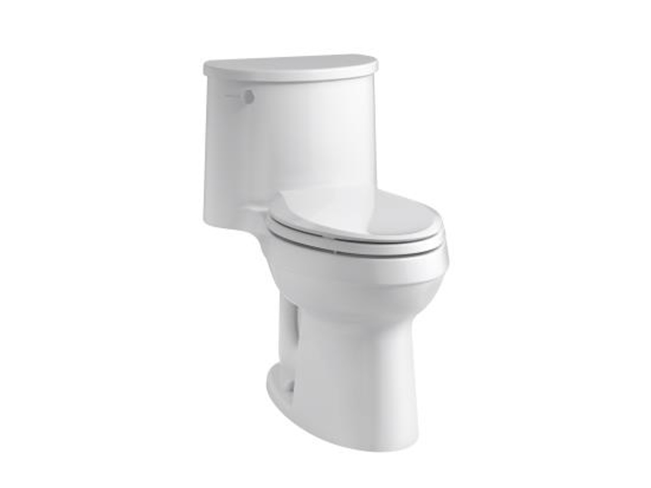 Kohler Adair Comfort Height One Piece Elongated 1 28 Gpf Toilet With Class Five Flushing Technology And Left Hand Trip Lever Royal Bath Place