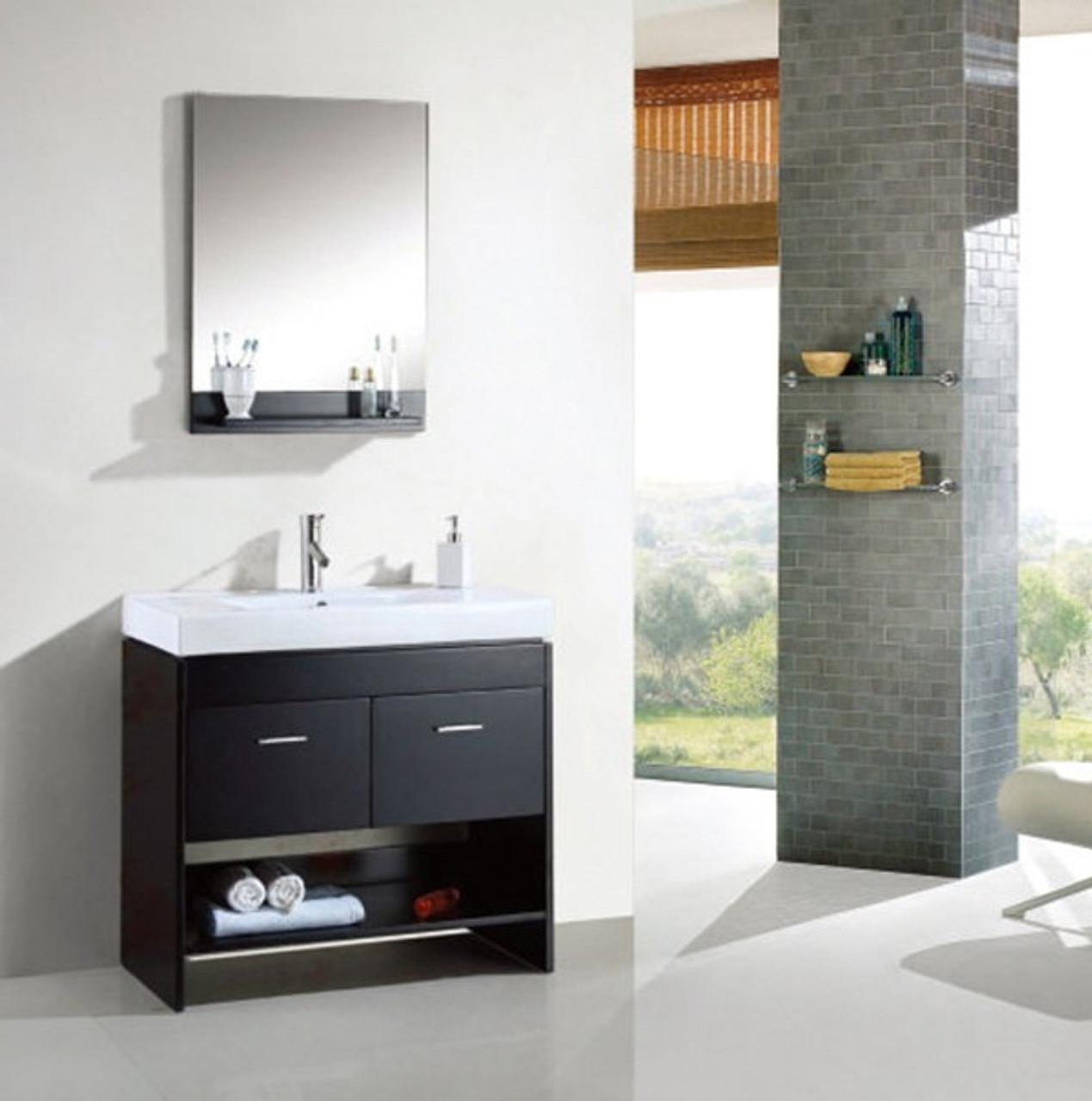 Grace 36 Espresso Bathroom Vanity Royal Bath Place
