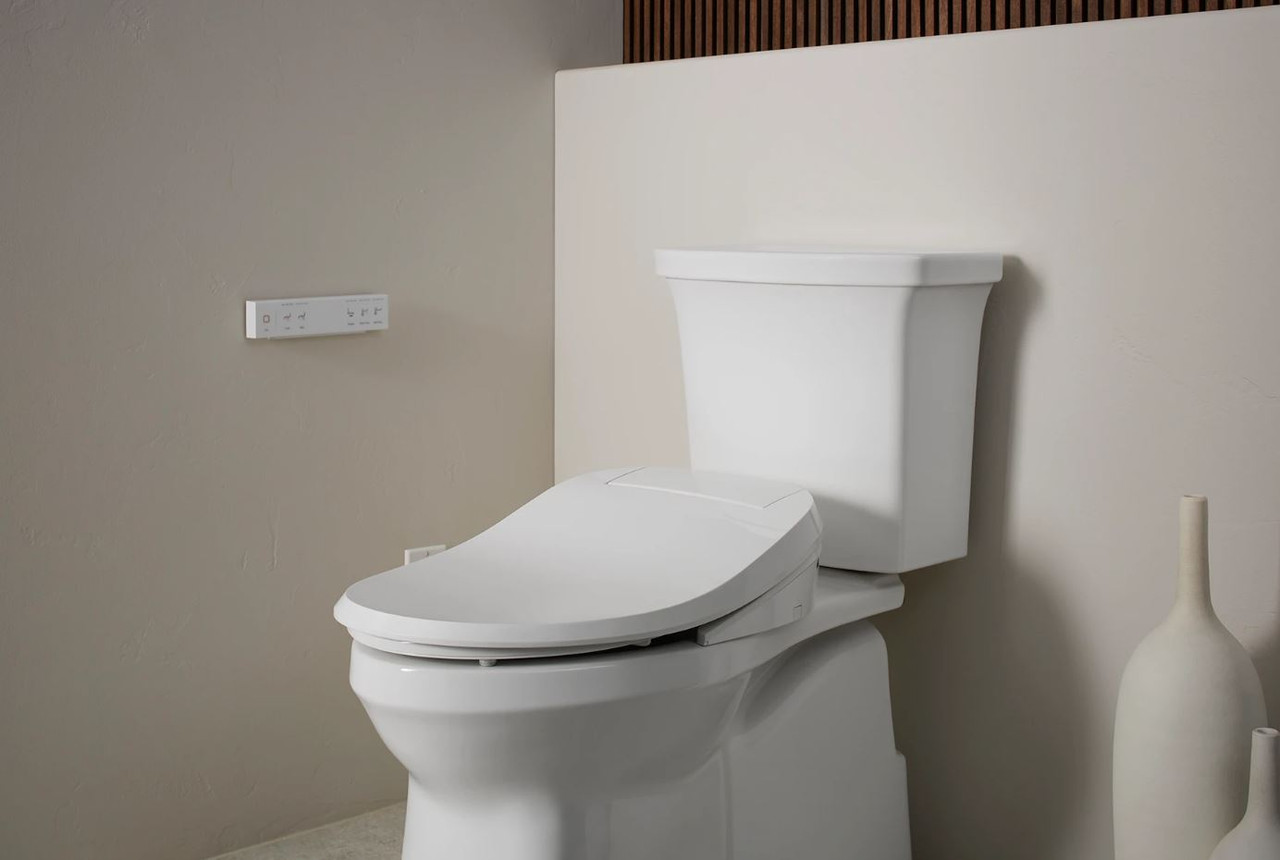 Kohler C3 430 Elongated Closed Front Bidet Seat With Heated Seat Quiet Close Lid Quiet Release Hinges And Led Lighting Royal Bath Place