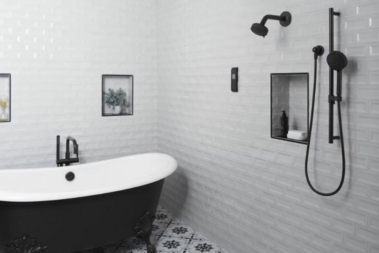 Kohler Purist Floor Mounted Tub Filler with Built In Diverter ...