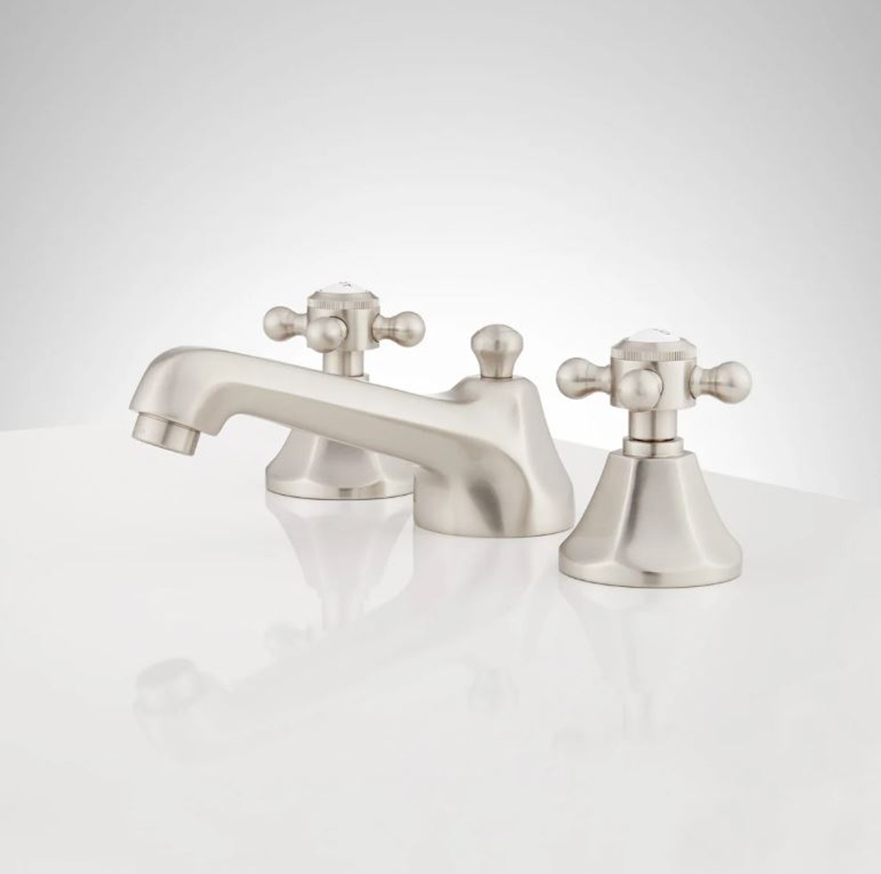 Signature Hardware Boca Raton 1 2 Gpm Widespread Bathroom Faucet With Pop Up Drain Assembly Royal Bath Place